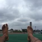 裸足で5000m、タイムトライアルの結果は・・・?