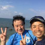 沖縄観光ラン〜!暑い!(笑)